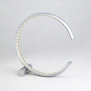 Настольная лампа декоративная Vortex 80411/1 хром 10W