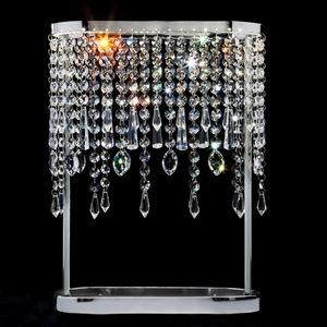 Настольная лампа декоративная Sicilia 80413/1 хром 6W