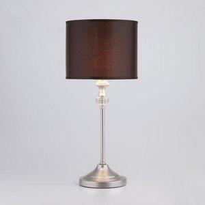 Настольная лампа декоративная Ofelia 01049/1 серебро