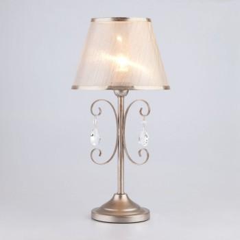 Настольная лампа декоративная Liona 01051/1 серебро