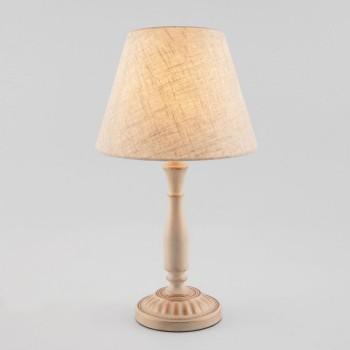 Настольная лампа декоративная Eurosvet London 01060/1 белый с золотом