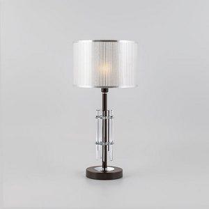 Настольная лампа декоративная Eurosvet Telesta 01063/1 хром