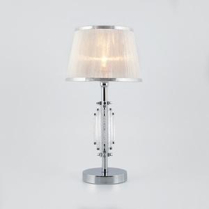 Настольная лампа декоративная Eurosvet Amalfi 01065/1 хром
