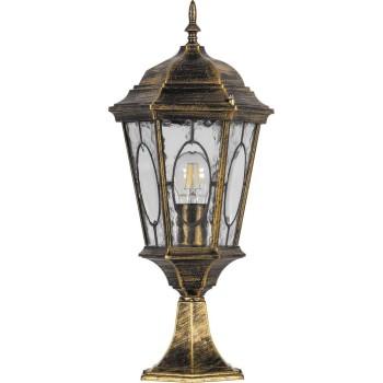 Наземный низкий светильник Feron Витраж с овалом 11322