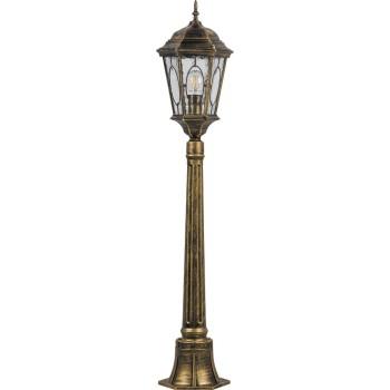 Наземный высокий светильник Feron Витраж с овалом 11323