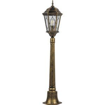 Наземный высокий светильник Feron Витраж с овалом 11332