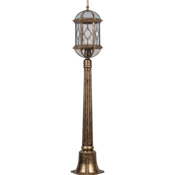 Наземный высокий светильник Feron Витраж с ромбом 11338
