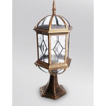 Наземный низкий светильник Feron Витраж с ромбом 11339