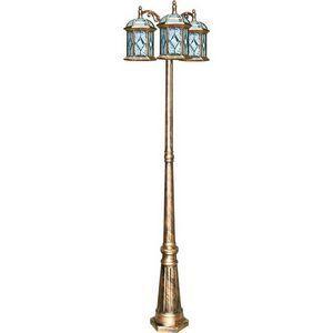 Фонарный столб Feron Витраж с ромбом 11342