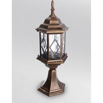 Наземный низкий светильник Feron Витраж с ромбом 11346
