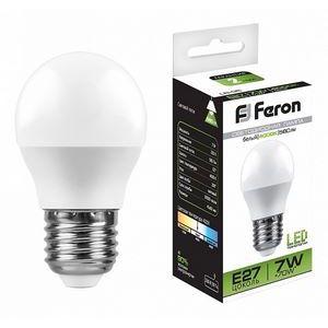 Лампа светодиодная LB-95 E27 7Вт 220В 4000 K 25482