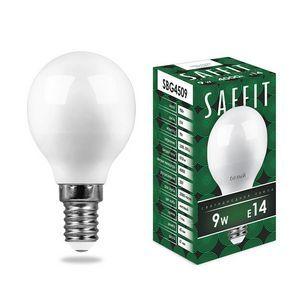 Лампа светодиодная SBG4509 E14 9Вт 220В 4000 К 55081