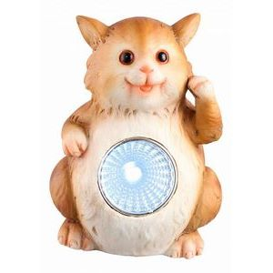 Садовая фигура Globo Solar 33843-15 кошка