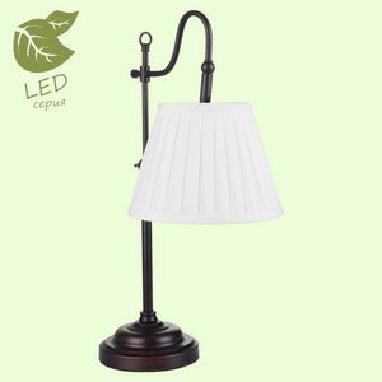 Настольная лампа декоративная Lussole Milazzo GRLSL-2904-01