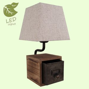 Настольная лампа декоративная Lussole  GRLSP-0512