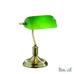 Настольная лампа офисная Ideal Lux Lawyer LAWYER TL1 BRUNITO