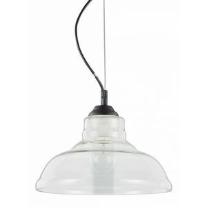 Подвесной светильник Ideal Lux Bistro' BISTRO' SP1 PLATE TRASPARENTE