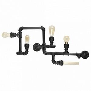 Накладной светильник Ideal Lux Plumber PLUMBER PL5 NERO