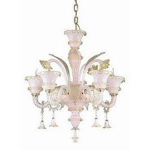 Подвесная люстра Ideal Lux Antonietta ANTONIETTA SP5 ROSA
