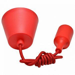 Подвесной светильник Imex PNL.E27 PNL.E27/1 красный