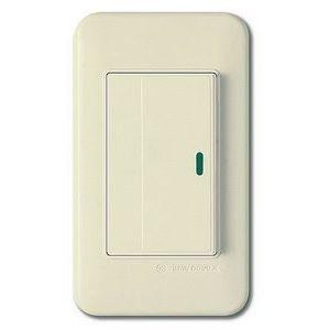 Выключатель одноклавишный с подсветкой Imex 70 Wide Ivory WSN 0424
