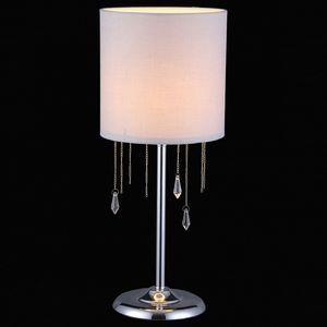 Настольная лампа декоративная MONZA 11426/1 CHROME