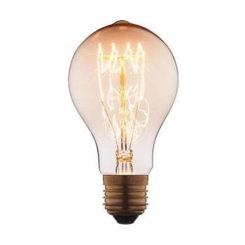 Лампа накаливания E27 40W груша прозрачная 1003-SC