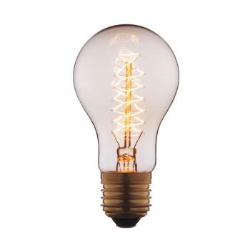 Лампа накаливания E27 40W прозрачная 1003