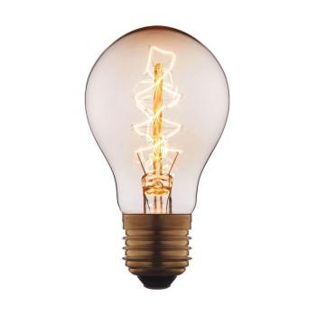 Лампа накаливания E27 60W прозрачная 1004-C