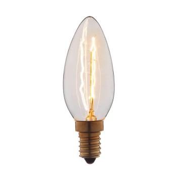 Лампа накаливания E14 40W прозрачная 3540