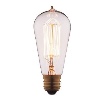 Лампа накаливания E27 60W прозрачная 6460-SC