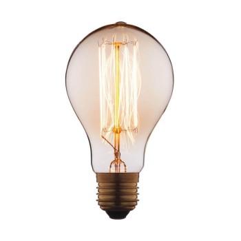 Лампа накаливания E27 60W прозрачная 7560-SC