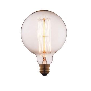 Лампа накаливания E27 60W прозрачная G12560
