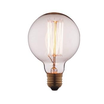 Лампа накаливания E27 40W шар прозрачный G9540