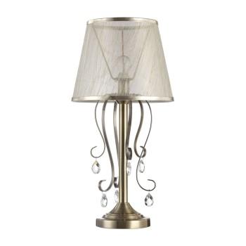 Настольная лампа декоративная Freya Simone FR2020-TL-01-BZ