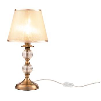 Настольная лампа декоративная Inessa FR2685TL-01BZ