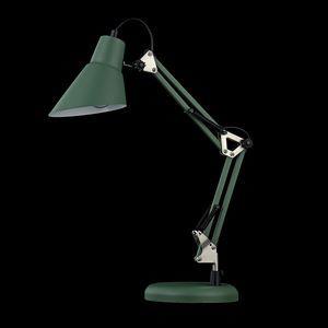 Настольная лампа офисная Maytoni Zeppo 136 Z136-TL-01-GN