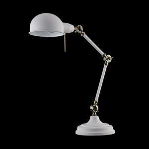 Настольная лампа офисная Maytoni Zeppo 137 Z137-TL-01-W