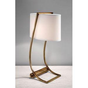 Настольная лампа декоративная Lex FE/LEX TL BB