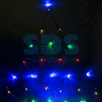 Занавес световой (1,5x2x2 м) Сеть 215-009