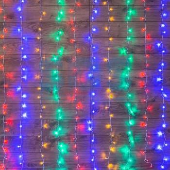 Занавес световой (2,5x2 м) Светодиодный Дождь 235-059