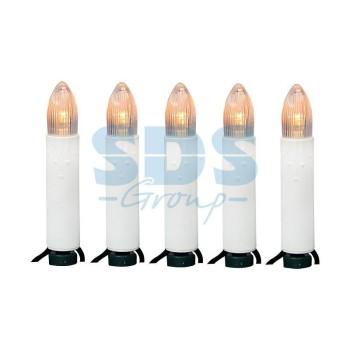 Гирлянда нить (10 м) Свечи 303-085