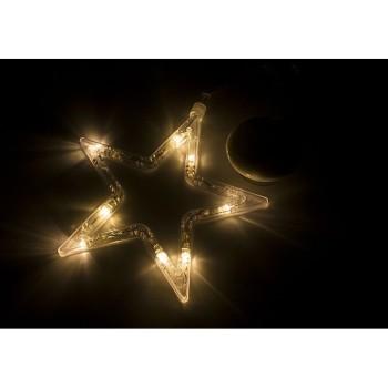 Панно световое (18.5х18.5 см) Звездочка 501-011
