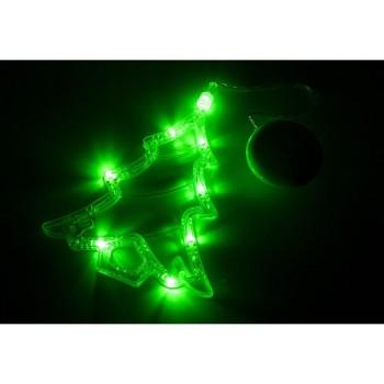 Панно световое (16х19 см) Елочка 501-017