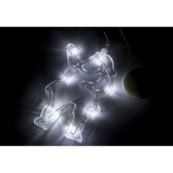 Панно световое (13х19 см) Санта Клаус 501-018