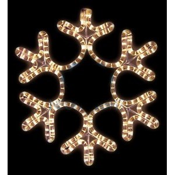 Панно световое (45x38 см) Снежинка NN-501 501-212