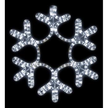 Панно световое (45x38 см) Снежинка NN-501 501-222
