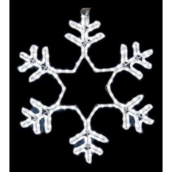 Панно световое (55x55 см) Снежинка NN-501 501-334