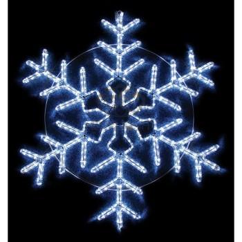 Панно световое (95x95 см) Снежинка NN-501 501-338