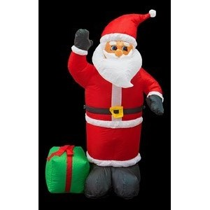 Дед Мороз световой (1.2 м) с подарком NN-511 511-054
